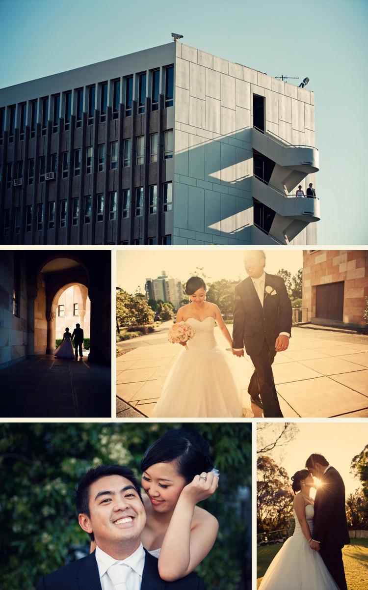 queesnsland university wedding