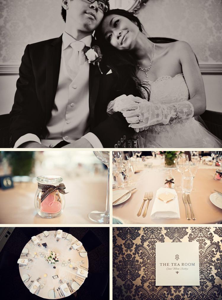 the tea room wedding