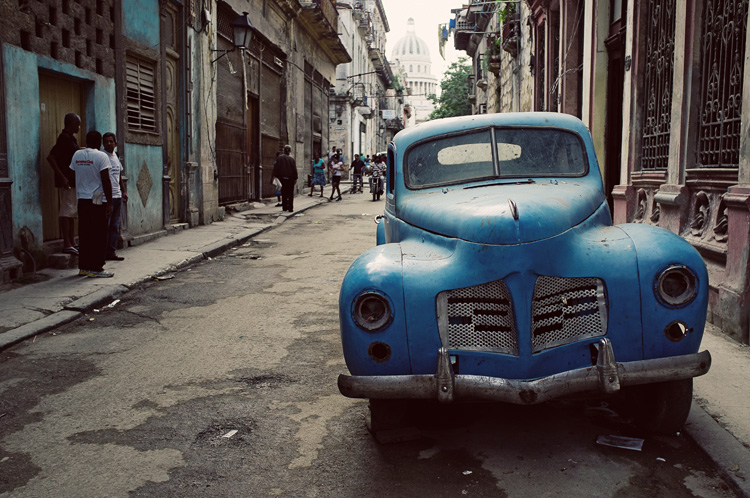 havana old car