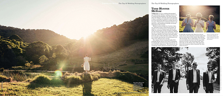 top 10 wedding photographer